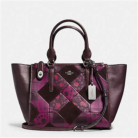 Coach Kelsey Small Patchwork 5 coach f36531 crosby carryall in patchwork leather