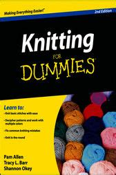 knitting for dummies knitting for dummies ebook by allen tracy barr shannon