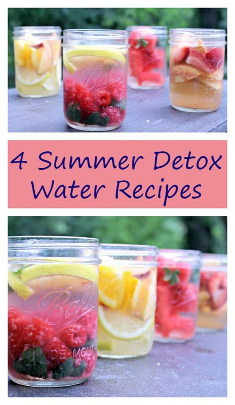 Summer Detox Tea by Four Favorite Summer Detox Water Recipes Jars An Eye