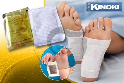 Kinoki Foot Detox Murah by Koyo Detox Foot Patch Kiyome Kinoki Gold Grosir Alkes