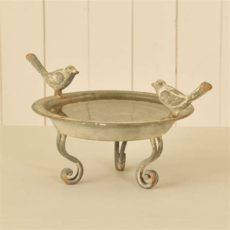 mojolondon iron bird bath