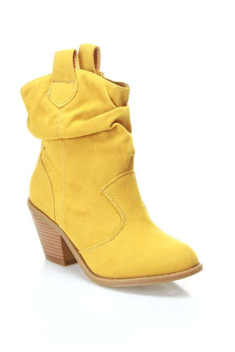 yellow boots yellow boots my style