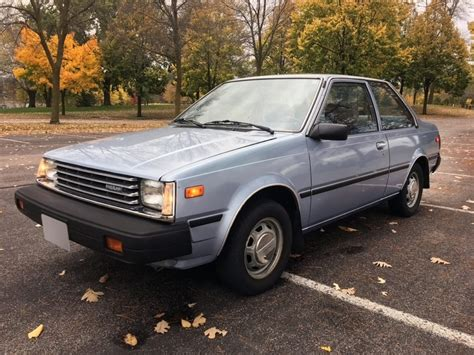 No Reserve 1983 Datsun Nissan Sentra 5 Speed For Sale On
