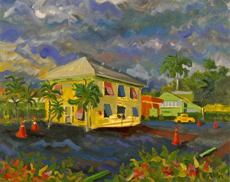 key lime house old key lime house painting by ralph papa