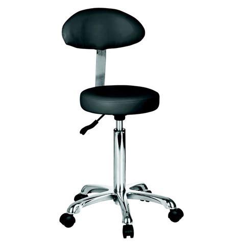 taburetes de peluqueria taburete est 233 tica con respaldo y ruedas