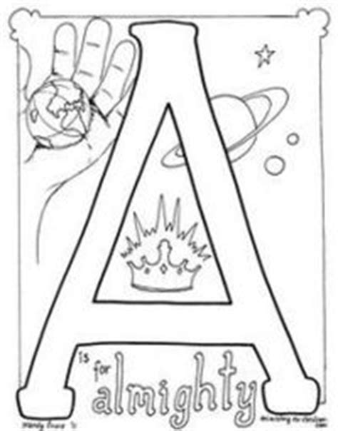 Printable Bible Alphabet Coloring Pages | ministry to children com juxtapost
