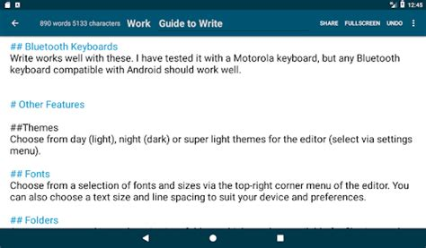 monospace for android is a minimalist notes writing app write tablet notepad journal android apps on google play