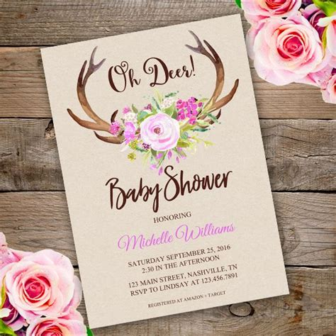 Where Can I Get Baby Shower Invitations by Downloadable Baby Shower Invitations Sansalvaje
