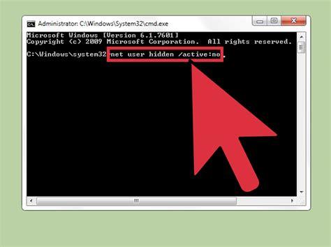 imagenes ocultas windows 7 3 formas de crear y administrar una cuenta oculta en windows 7