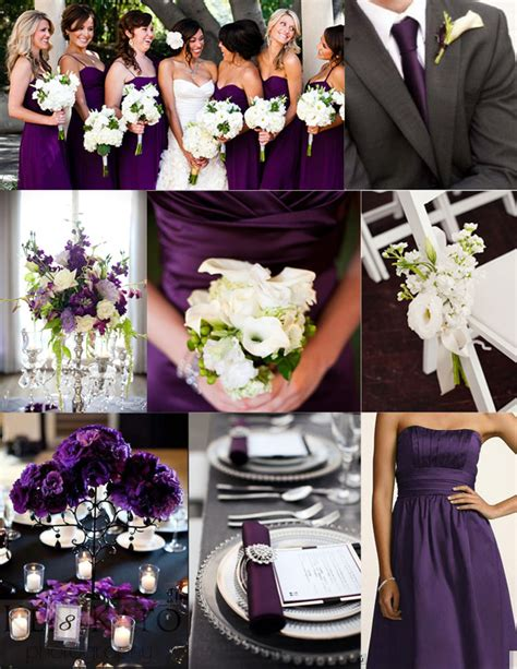 purple and white wedding inspiration wednesday purple wedding ideas perpetually daydreaming