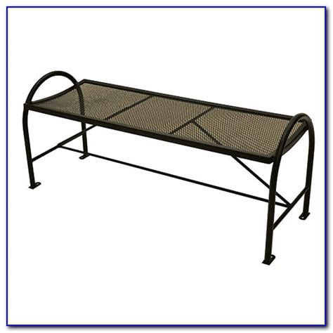 wrought iron backless bench wrought iron outdoor glider bench bench home design