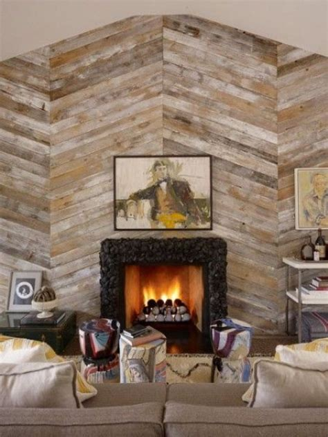 Accent Wall Fireplace by 30 Wood Accent Walls To Make Every Space Cozier Digsdigs