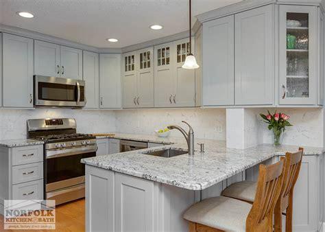 Norfolk Kitchen by Condo Kitchen Remodel In Burlington Ma Norfolk Kitchen