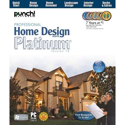 punch professional home design suite platinum 12 0 2