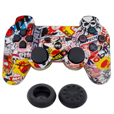 Controller Stick Ps3 Sixasis blueloong wireless controller vibration joystick sixaxis pad for playstation 3 ps3