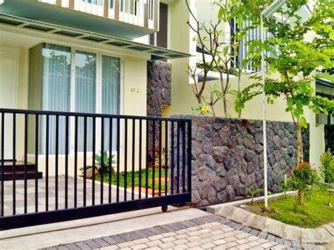 Alarm Pagar Rumah perencanaan pembangunan pagar rumah minimalis terbaru