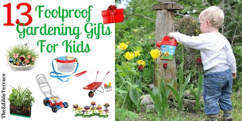 13 Foolproof Gardening Gifts For Kids Under 45 Gardening Gift Ideas For