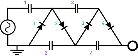 capacitor calculation in voltage multiplier building a high power voltage multiplier gammacephei