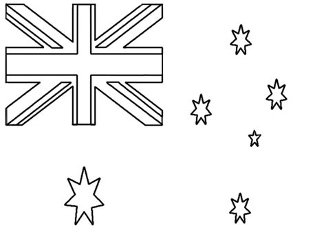 coloring pages australian flag driverlayer search engine