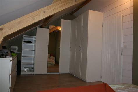 attic wardrobes ikea refitting an attic room storage and room divider ikea