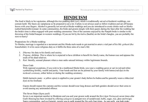 Hinduism Essays by Hinduism Essay Hinduism Bce Ce The World S Third Largest Religion Current Essay Topics In