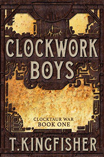 review clockwork boys clocktaur war book 1