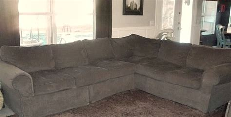 Reupholstering A Sectional Sofa How To Reupholster A Sectional Sofa How To Re Cover A Microfiber Sectional Hometalk Thesofa