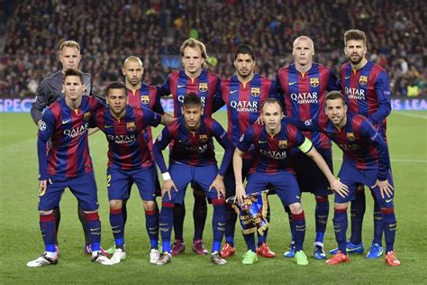 barcelona squad spanish football soccer sports blog
