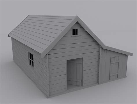 buy new build or old house old house 3d model max cgtrader com