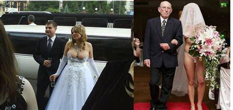 The Wedding Wardrobe by 10 Bridal Dress Fails That May Make You Reconsider