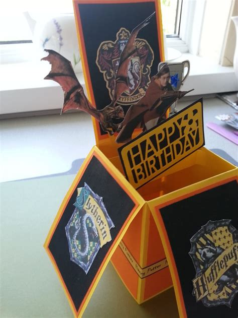 Harry Potter Handmade - 25 best ideas about harry potter cards on