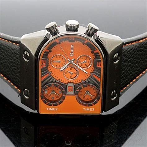 Oulm Quartz High Quality Band Fashion 3130 Leather oulm s fashion with 3 quartz movement leather import it all