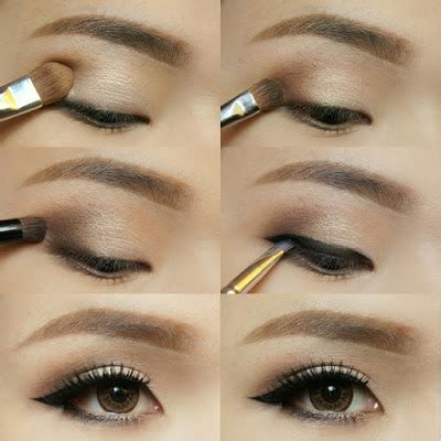 tutorial eyeliner sehari hari 30 tutorial make up mata natural coklat sehari hari