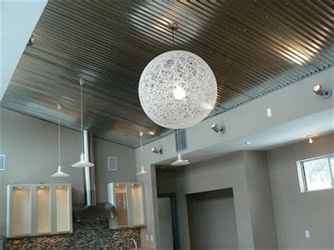 Interior Metal Ceiling Panels by Building Green In Vermont Corrugated Metal Ceiling