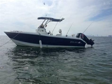 used boats for sale nyc fishing boat 2003 polar 2100cc t top for sale 19995