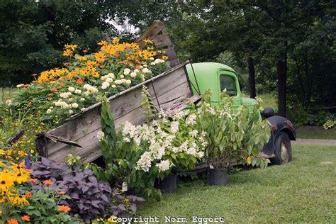 Alaska Car Dump Yard by Truck In Yard With Flower Bed My Flower