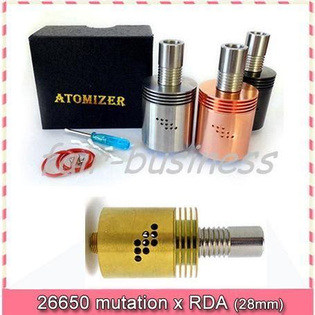 Magma 26650 Copper Rda 26650 mutation x xl rda rebuildable atomizer ss black