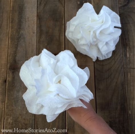 Towel Origami Flower - how to make paper towel flowers home stories a to z