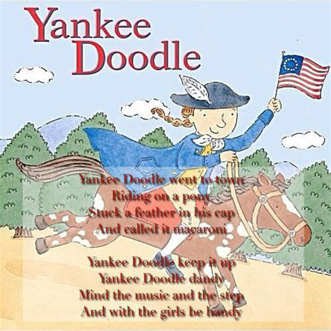 doodle dandy definition yankee doodle song with lyrics images frompo