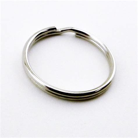 Wedding Ring Keychain Holder by Ifavor123 50pcs 25mm Split Key Chain Holder Ring