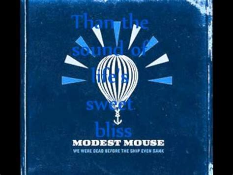 modest mouse missed the boat lyrics modest mouse missed the boat lyrics youtube