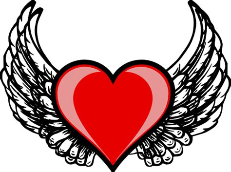 heart wing logo clip art vector clip art online royalty heart with wings clipart clipart suggest