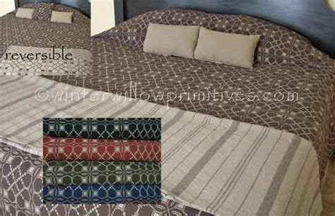 woven coverlet reproduction iron cross king coverlet weaving pinterest crosses