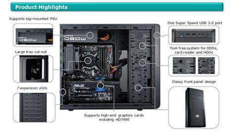 cabinet cooler master 500 cooler master cm 500