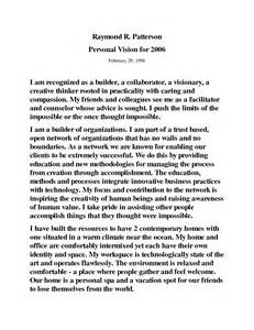 What Being Australian Means To Me Essay by Personal Vision Statement Template Quote Addicts