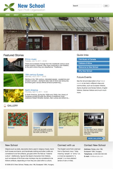 Drupal Themes School | new school drupal 7 themes and ebooks noodorg