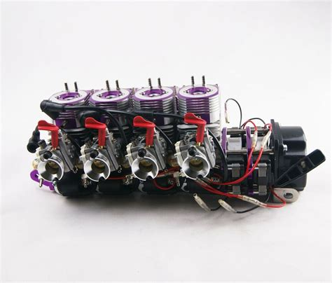 rc boat engines gas rtr modified 116cc inline 4 marine gas engine for racing