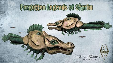 Sea Monster - The Forgotten Legends of Skyrim by ... Giant Sea Monster Skyrim