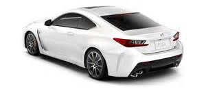 white carbon fiber lexus rc f autos post