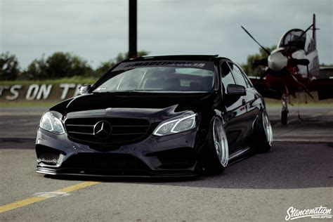 bagged mercedes e class staying the course chandra kenzo s mercedes benz e250